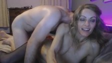 Fucking my Hot Slutty Blonde Neighbor on Cam