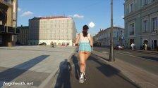 Jeny Smith  bottomless flashing in public