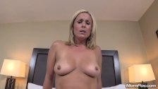New Freaky Blonde Milf Creampie Delight