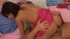 3 blonde teens blowjob Monica gets a