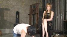 Japanese Mistress Kyouka and masochist woman