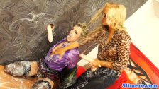 Sub bukake lesbo spitroasted at the gloryhole