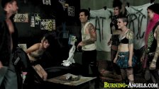 Alt punk slut fucked