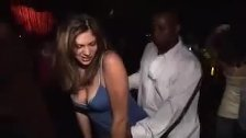 Cheat Hot Wife Trolling in the Club
