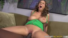 Alex Chance gets her pussy filled with BBC