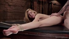20 year old Anal Slave Trained in Rough Sex a