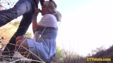 DTFSluts - Big Titted Blonde Public Sex Tape