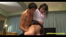 Jav Idol Abe Fucks Two Guys In Her Uniform