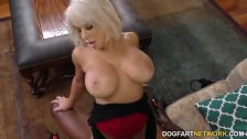 Busty Cougar Alyssa Lynn Hungry for BBC