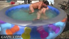 Teens boys nude at swim party gay Well