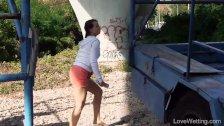 Locked Shorts in Public