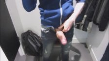 wanking And Cumming In Changing Room