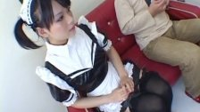Yuki Hoshino loves toys down her insolent pus