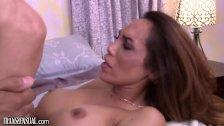 TS Dreamgirl Bottoms For Latino Hunk