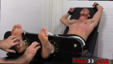 Twins suck toes gay Kenny Tickled In A