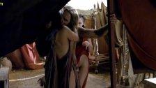 Ellen Hollman Group Sex In Spartacus Series