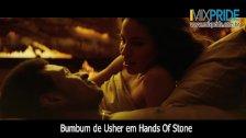 Bumbum de Usher em Hands of Stone