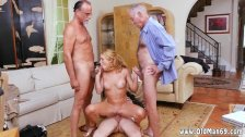 Teen first anal with old man Frankie And