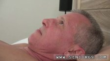 Old asian granny She decides to wake him