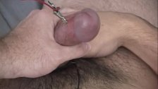 Gay twink electrical stimulation first time