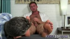 Naked couple kiss and gay porn with his