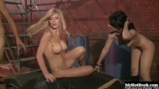 Rebecca Linares and Kenzi Marie have always enjoyed sharing a man, and now