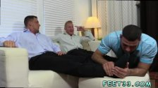 Teen gay anal  tube Ricky Worships Johnny &