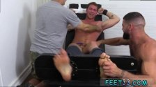 Young naked gay boys butt and feet and man