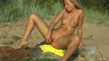 Lesbian drink pee outdoor first time Linda