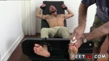 Toe licking old gay hairy bod and size 11