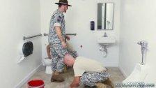 Muscle gay man army xxx Good Anal Training