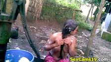 В деревенской бани фото