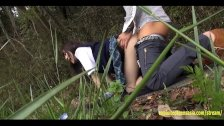 Idol Atobi Sri Fucks In Field By Motorway Skinny Babe With Shaved Pussy