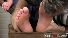 Gay sex free  suck feet Logan's Feet &
