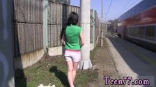 Hood ebony teen gangbang amateur and teen