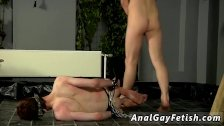Milking men with machines bondage gay and