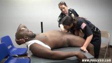 Hardcore black cock gangbang Milf Cops