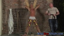 Hairy ass men bondage gay first time Slave