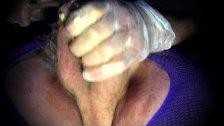crossdresser trans cock sounding urethral toy dildo pantyhose