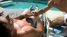 Guys jacking each other off and cumming