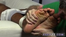 Sugar daddy sucks boys toes and two guys