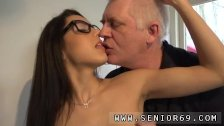 Old couple seduce young couple Carolina is