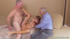 Young 18 amateur and milf rides big dick