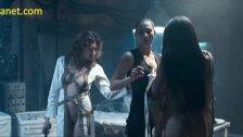 Oksana Borbat Lesbian Threesome In Return To House On Haunted Hill Movie