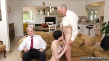 Old swinging couples Frankie heads down the