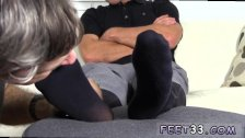 Men bare foot shackles gay Tommy Makes