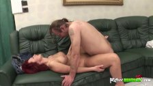 Handicapped man fucking a babe