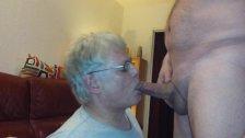 GD fellation et ejacula en bouche