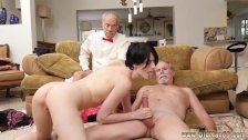 Titty sucking threesome and miko sinz