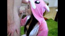 Sexy Teen Sucking Dick On Webcam